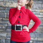 """Make a """"faux"""" Santa Shirt – A tutorial"""