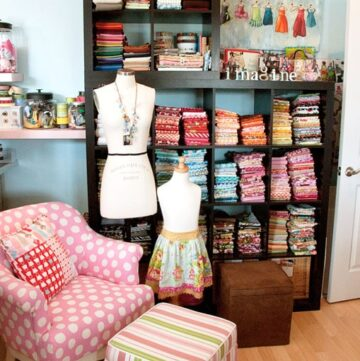 Fabric Reorganized.