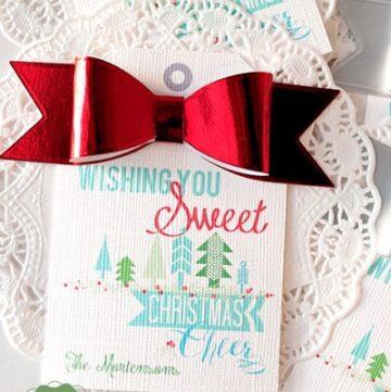 Ideas for Tags for the Neighbor Christmas Treats!