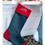 Wool Christmas Stocking Tutorial