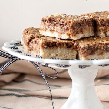 Pecan Pie Squares Recipe
