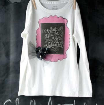 Chalk Art T-Shirt