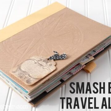 Smash Book Travel Album