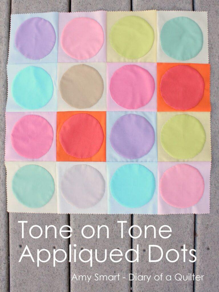 Tone on tone dots