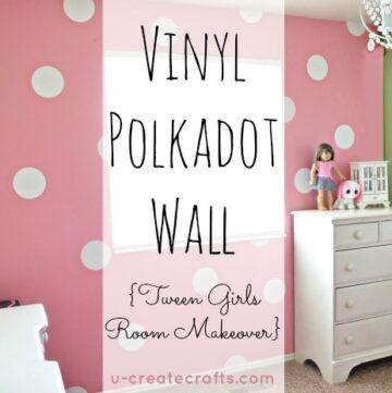 Polka Dot Tween bedroom by Ucreate!