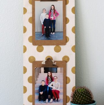 Polka Dot Clipboard Sign by eighteen25