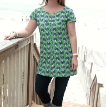 A top for me, The diplomat tunic