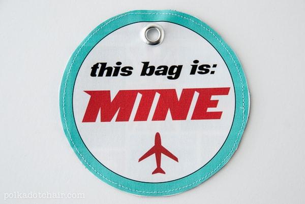 Free Luggage Tags