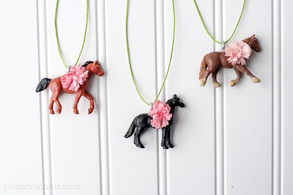 Pretty Ponies Necklaces