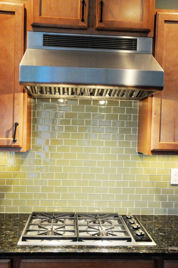Kitchen Tile Turned Yello