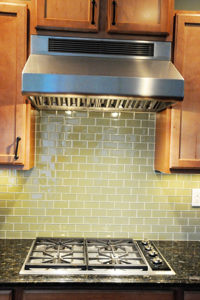green glass tiles kitchen simple kitchen updates on the polka dot chair 3989