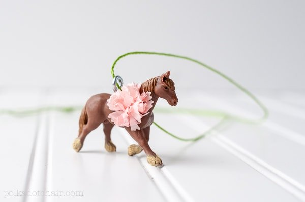 DIY Horse Necklace