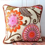 Add embroidery detail to fabric with HGTV Home