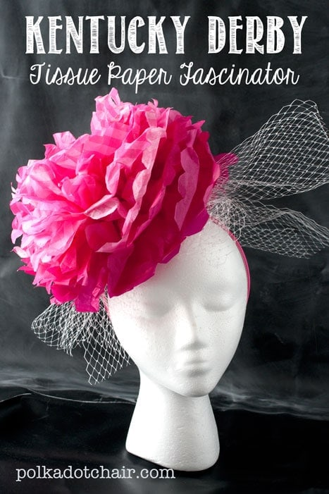 DIY Kentucky Derby Fascinator