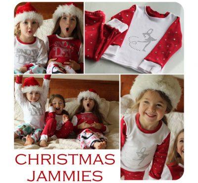 DIY Polka Dot Christmas Jammies