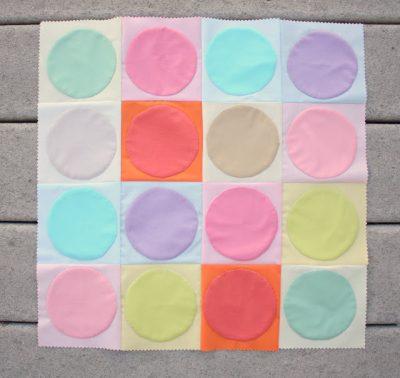 Applique Quilt Circles Quilt Top