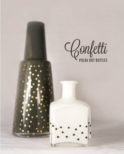 Confetti Polka Dot Bottles