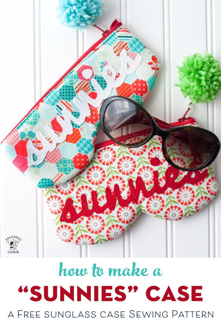 Stitch up a Cute Sunglasses Case