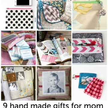 Hand Made Mother's Day Gifts