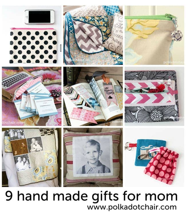 ideas for handmade mother 39 s day gifts from the polka dot chair