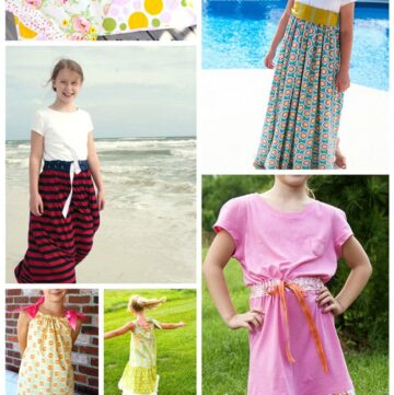 Summer Dress Sewing Patterns for Girls