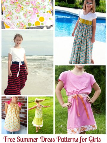 Summer Dress Sewing Patterns for Girls