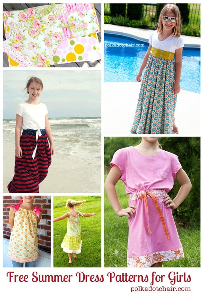 Summer Dress Patterns for Girls