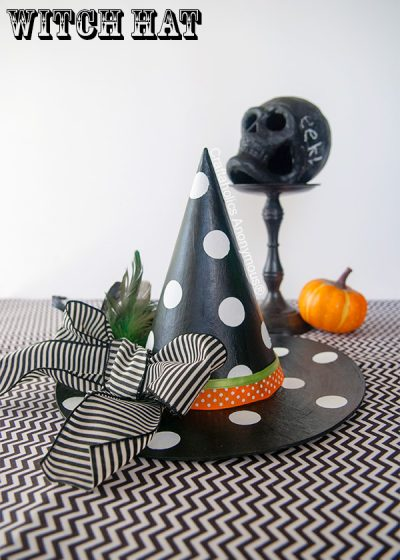 DIY Polka Dot Witches Hat