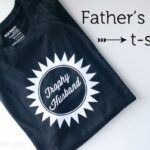 Trophy Husband- DIY Father's Day t-shirt
