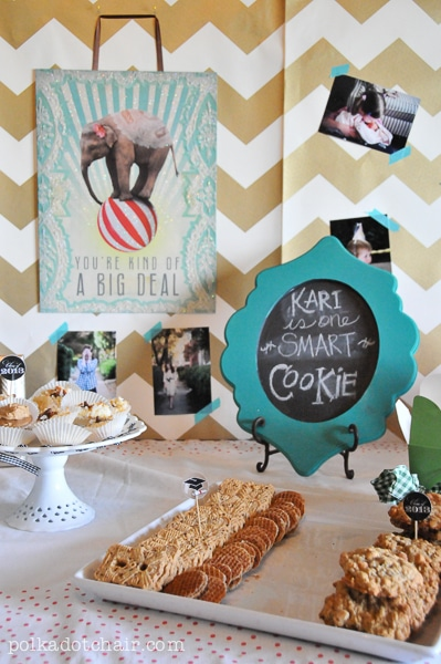 One Smart Cookie Graduation Party Ideas