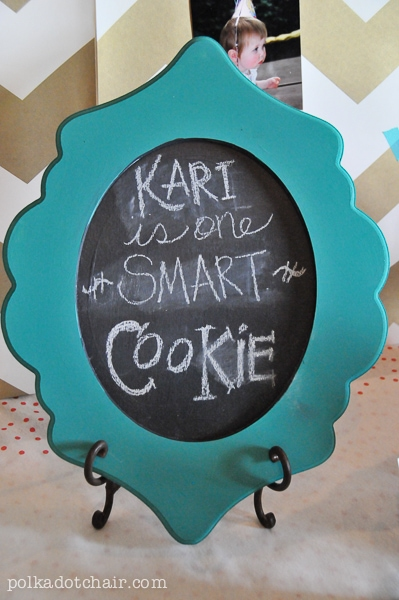 One Smart Cookie graduation party