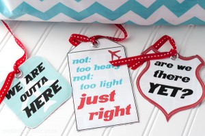 DIY Luggage Tags