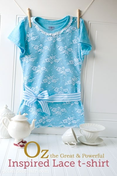 Lace T-shirt Inspired by Oz the Great and Powerful
