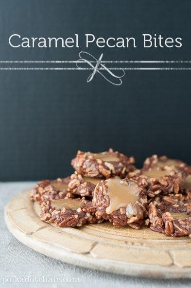Caramel Pecan Cookie Recipe