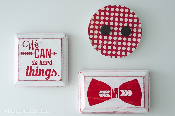 DIY Inspirational Magnets