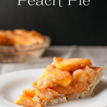 Farm Fresh Peach Pie