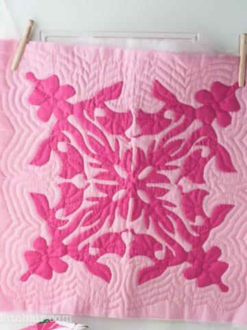 Hawaiian Quilt Square
