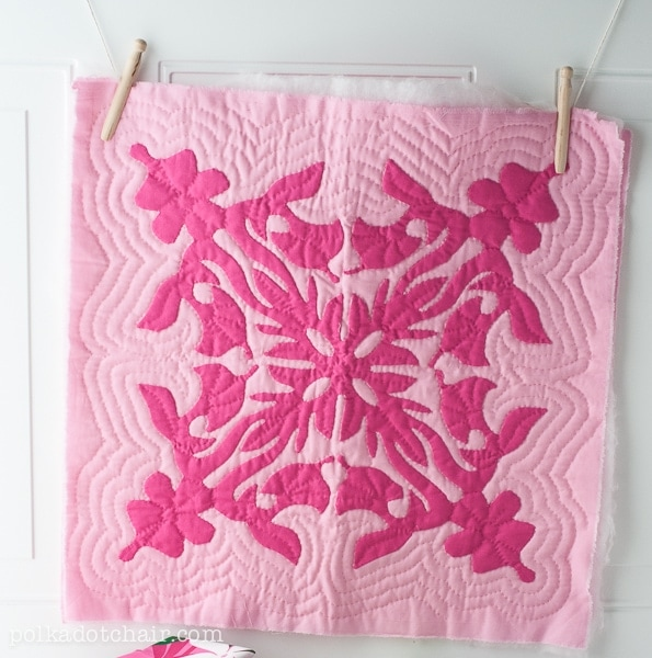 Hawaiian Quilt Square