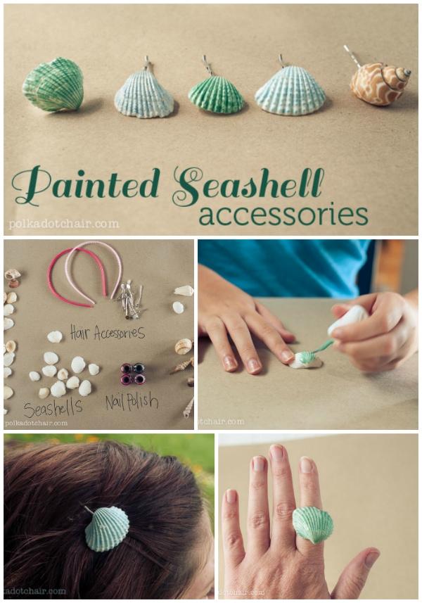 Seashell Craft Ideas For Bathroom