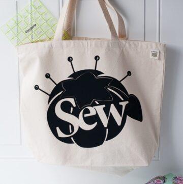 Sewing Tote Bag: Nancy Zieman's Blog Hop