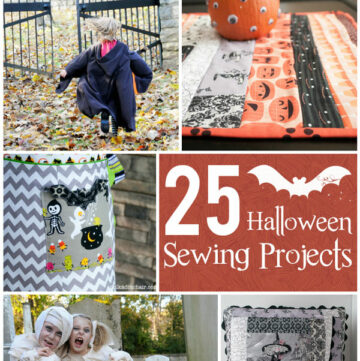 More than 25 Halloween Sewing Projects