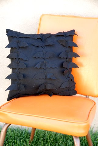 Bat Pillow, cute halloween decoration