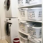 Laundry Room Shelving Idea