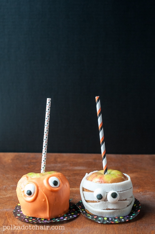 Candy Apple Ideas For Halloween