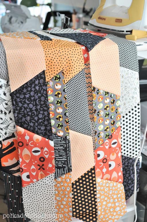 how to make a hexagon quilt