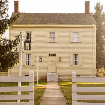 Shaker Village in October