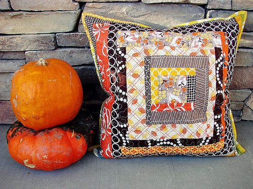 Autumn Quilted Pillow