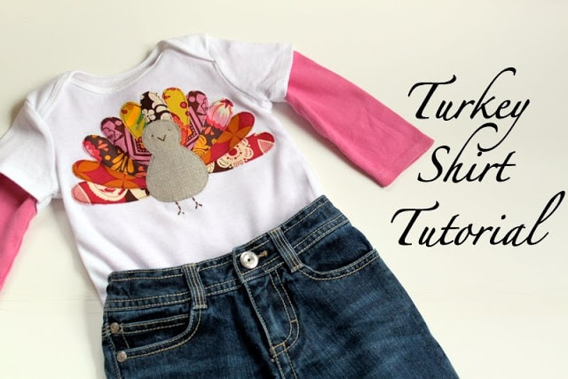 Turkey T-Shirt Tutorial