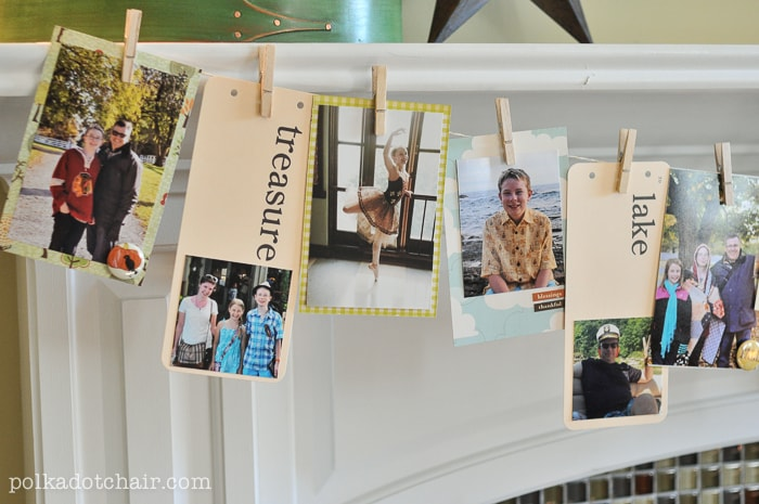 DIY Thanksgiving Family Memory Banner