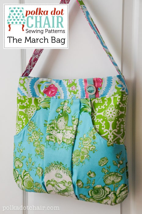 The March Bag Sewing patterns- a purse and handbag sewing pattern